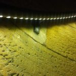 Tour de Cardaillac : rampe lumineuse avec cordon de LED
