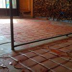 Maison particulière : plancher chauffant électrique